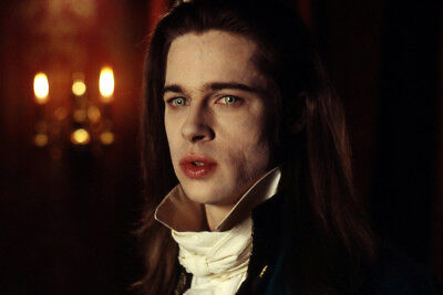 Interview With The Vampire Chronicles Brad Pitt Close Up 24X36 Poster Print