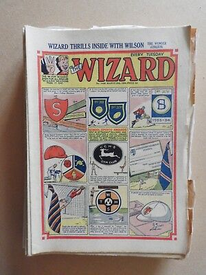 The Wizard x 29 from 1953 & 1954