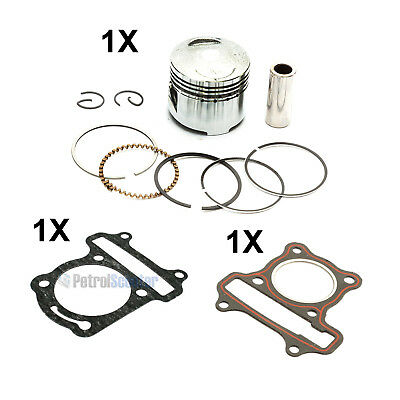 GY6 50cc Piston Kit   Head   Base Gasket 39mm 13mm Baotian Direct Bikes Lexmoto