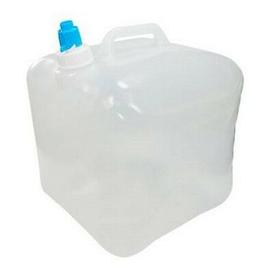 New 10L Water Carrier Container Foldable Collapsible With Tap Camping Bottle