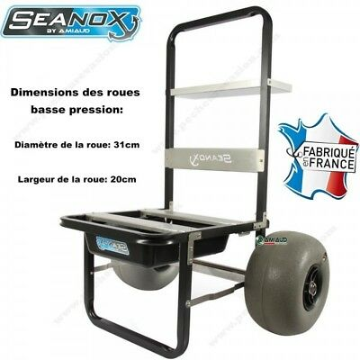 Chariot Surf Seanox - Roues Basse Pression Amiaud