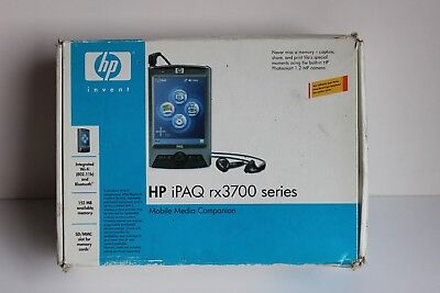 HP iPAQ RX3700 SERIES MOBILE  MEDIA COMPANION  2 CHARERS- 3 DEVICES - 2 COVERS