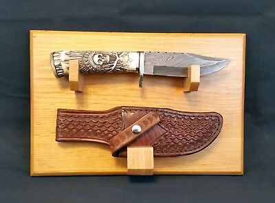 Knife / Sheath Display Stand- Wall mount- Made to Order