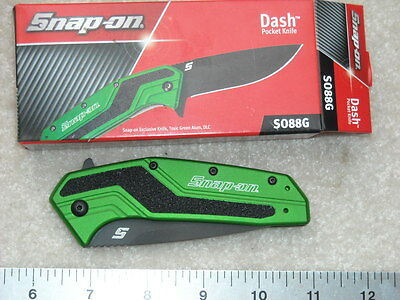 Kershaw Snap-On SO88G Dash Green Exclusive Knife 1688 made in USA New in Box