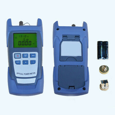 Compact Handle Fiber Optic Optical Power Meter -70~+10dBm SC/FC Connector Nice