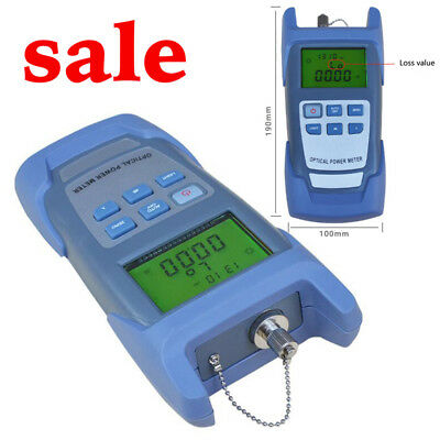 Portable Fiber Optic Optical Power Meter-70~+10dBmSC/FC Connector Better Working