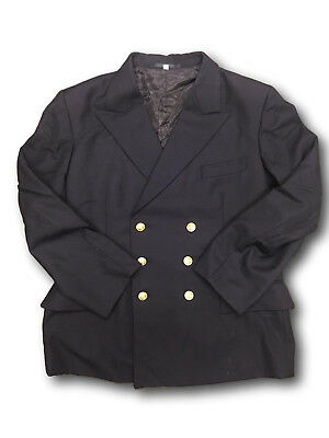 Swedish Navy Winter Gaberdine Double Breasted Coat/Jacket