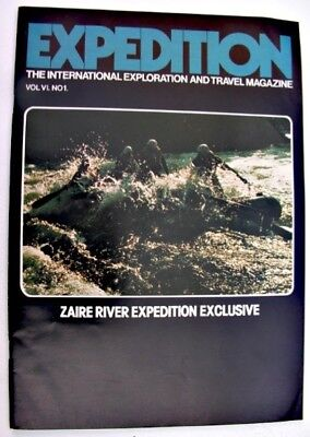 EXPEDITION MAGAZINE 1976 Zaire River Katanga Gorges Wendy Hinds Sailor
