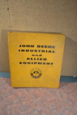 John Deere Industrial & Allied Equipment Binder With Delco 1973 Tune Up Manual