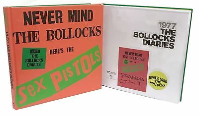 Signed Book - The Sex Pistols - 1977: The Bollocks Diaries by John Lydon