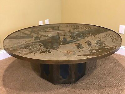 """Philip and Kelvin LaVerne """"Chan"""" Coffee Table: Large"""