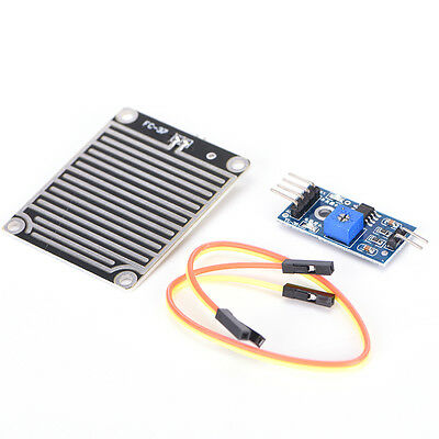 Raindrops Detection sensor modue rain and weather module Humidity For Arduino ;K