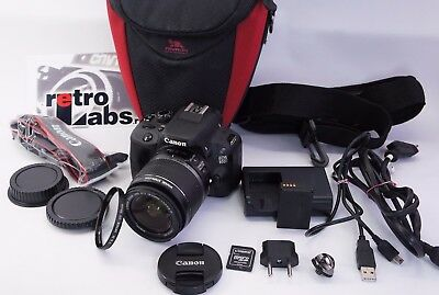 Canon EOS Rebel SL1 / EOS 100D 18.0MP Digital SLR Camera, Lens 18-55mm EF-S IS