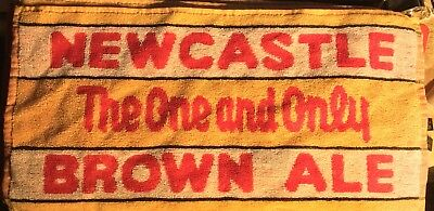 Newcastle Brown Ale terrycloth bar towel New
