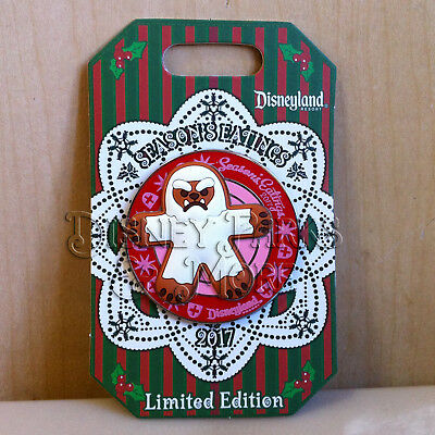 Disneyland Season's Eatings 2017 Matterhorn Yeti Gingerbread Cookie Pin