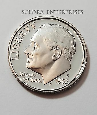 1992 S Roosevelt *proof* Dime **free Shipping**