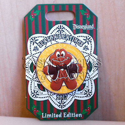 Disneyland Season's Eatings 2017 Mr Toad's Wild Ride Gingerbread Cookie Pin