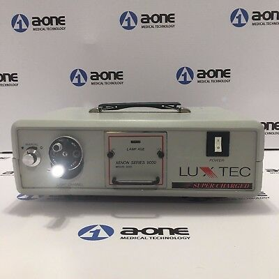 LUXTEC 9300 Series 9000 Supercharged Xenon Light Source