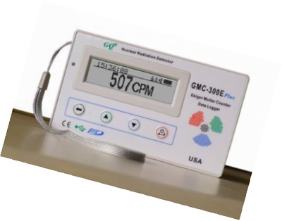 GQ GMC-300E-Plus Digital Geiger Counter Nuclear Radiation Detector Monitor Meter