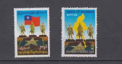 Myanmar Burma 2007 59Th Independence Day Set Mint Never Hinged