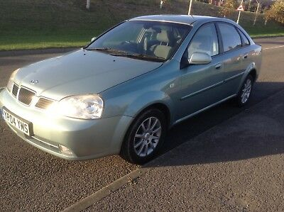 2004 DAEWOO NUBIRA XTRA COOL GREEN ONLY 114k DRIVES FAULTLESS AND LOOKS GREAT