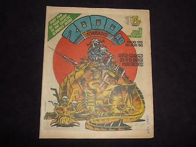 Early 2000AD Prog 175 comic bagged and boarded (LOT#84)