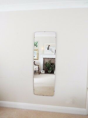 Mirror Mid Century Modern Frameless Extra Large Feature Wall Mirror