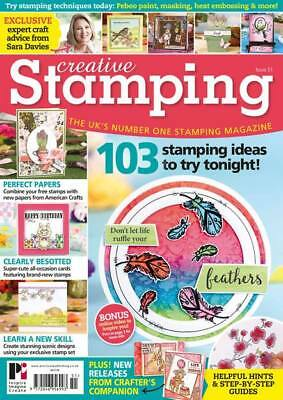 Creative Stamping Magazine Issue 51 with Vintage Springtime Stamp Set