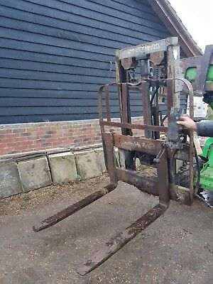 Tractor Fork Lift 3 Point Linkage Or Massey Ferguson Plates For Fitting Straight