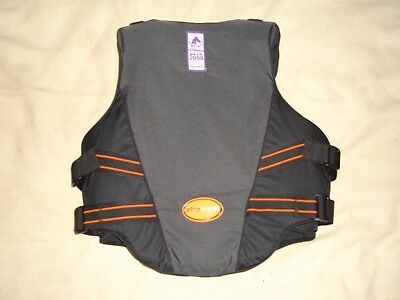 """EQUESTRIAN BODY PROTECTOR OUTLYNE by AIROWEAR LADIES SIZE L3 (34"""" to 36.5"""" CHEST"""