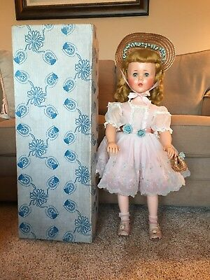 "Vintage 30"" Sweet Sue American Character Doll Original Dress Box Wedding Dress"