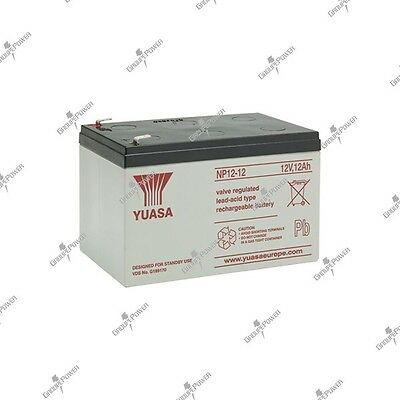 Battery storage energy lead watertight YUASA NP12-12 12V 12AH 151X98X97.5