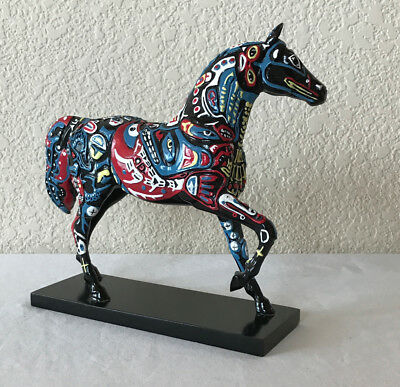 The Trail of Painted Ponies #12234 Spirits of the Northwest Horse Figurine 2E