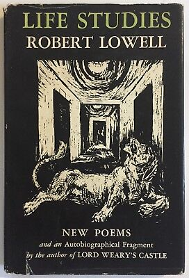 Robert Lowell Life Studies New Poems First Edition 1st Printing HCDJ 1959