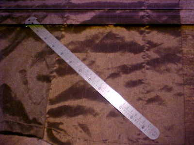"""Vintage Gaebel Stainless Steel 12"""" Ruler No. 612 New York Made in U.S.A."""