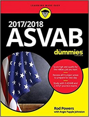 2017 / 2018 ASVAB For Dummies (For Dummies (Lifestyle))
