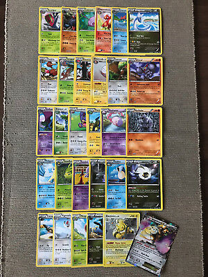 Brand New Mint Pack of 30 Stage 1 Pokemon Cards & Aegislash EX Card 65/119