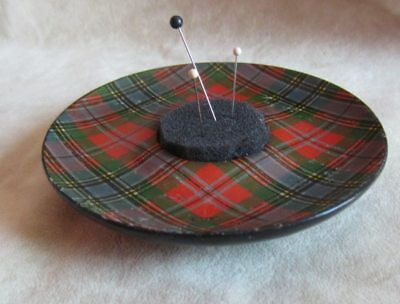 Tartanware Pin Cushion