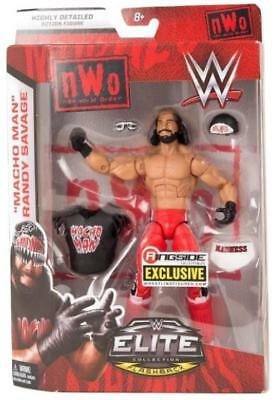 WWE Elite Collection Randy Savage Wolfpac Exclusive Wrestling Figure