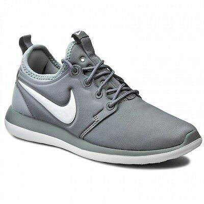Nike Roshe Two (Gs) Running Shoes Boys Girls Size 5Y New Cool Gray 844653-004