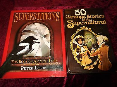 "L@@k!""new Age"" -"" Superstitions/ Ancient Lore/ Supernatural""  Book Lot- Bj23"