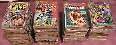 Wow! GIANT Lot of *100* Early Bronze ('72-74) Marvel Comics! Spidey/I Man/Thor++