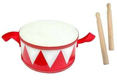 NEW Fun Factory Red Drum with Two Drum Sticks from Baby Barn Discounts