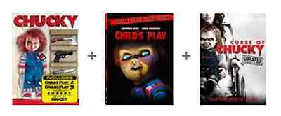 Chucky Complete Collection Child's Play Seed Bride Curse DVD SET Horror Lot Doll