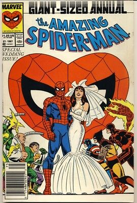 Amazing Spider-Man Annual #21 1987 Special Wedding Issue