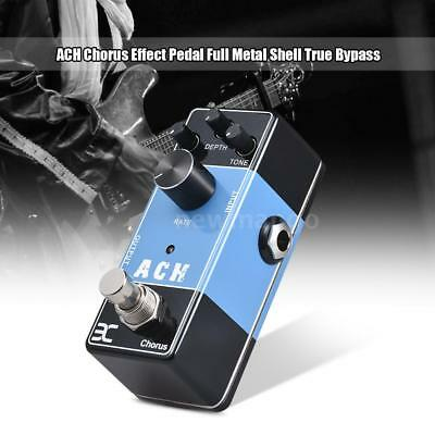ENO EX Acoustic Guitar Effects Pedal Series Chorus Effect Pedal True Bypass Z1A5