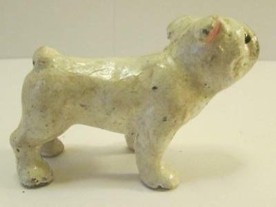 Very Nice Vintage Hubley English Bulldog Cast Iron Paperweight