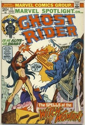 MARVEL SPOTLIGHT #11 1973 VF- GHOST RIDER Final Tryout Before Own Title