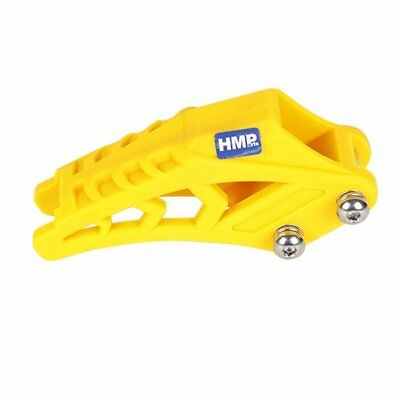 hmparts ATV QUAD PIT BIKE DIRT BIKE CHAIN GUIDE 420/428 Yellow