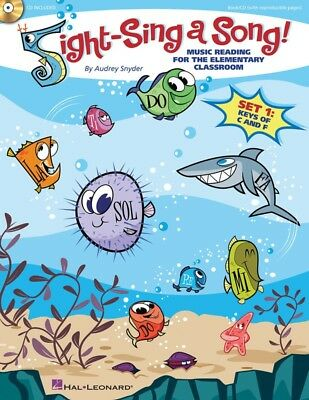 Sight-Sing a Song! - Music Reading for the Elementary Classroom - Book with CD